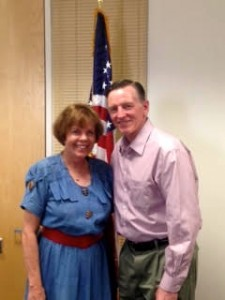 Paul Gosar and me