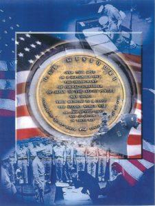 Deck Seal USS Missouri